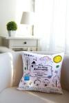 Подушка декоративная с Вашим именем Детская коллекция