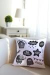 Подушка декоративная с Вашим именем Злобный День рождения