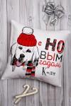 Подушка декоративная с Вашим именем Подарок в год собаки