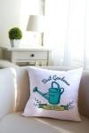Подушка декоративная с Вашим именем Best Gardener
