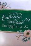 Подушка декоративная с Вашим именем Школьная доска