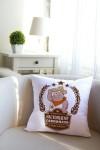 Подушка декоративная с Вашим именем Свиномачо