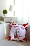 Подушка декоративная с Вашим именем Рок-н-рольщик