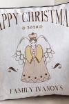 Наволочка с Вашим именем Рождественский ангел