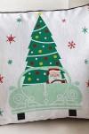 Наволочка Дед Мороз за рулём