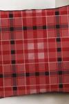 Наволочка Красная шотландка