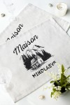 Набор салфеток с Вашим текстом Maison