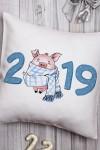 Подушка декоративная 2019