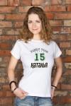 Футболка женская с вашим текстом Family team