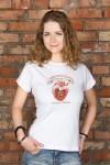 Футболка женская с вашим текстом Место в сердце