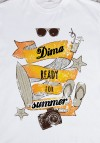 Футболка мужская с вашим текстом Ready for Summer