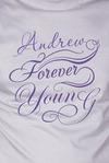 Футболка мужская с вашим текстом Forever young