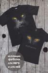 Футболка мужская с вашим текстом Black cat