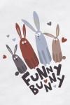 Футболка женская Funny bunny