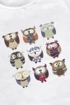 Футболка женская Funny owls