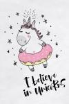 Футболка женская I believe in unicorns