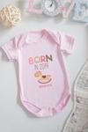 Боди для малыша с вашим текстом Born in 2014