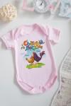 Боди для малыша с вашим текстом Пасхальные цыплята
