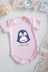 Боди для малыша с вашим текстом Малышка пингвин