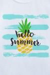 Футболка детская С надписью Hello Summer