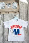 Футболка детская с вашим текстом SuperStar