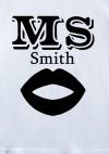 Футболка детская с вашим текстом Mr & Mrs Smith