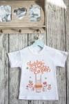 Футболка детская с вашим текстом Happy Easter