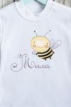 Футболка детская с вашим текстом Пчелка