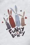 Футболка детская Funny bunny