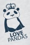 Футболка детская Love pandas