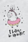 Футболка детская I believe in unicorns