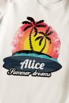 Боди для малыша с вашим текстом Summer dreams