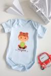 Боди для малыша с вашим текстом Маленький модник