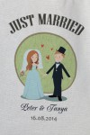 Сумка с Вашим текстом Just Married