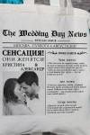 Сумка с Вашим текстом Свадебная газета
