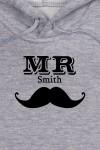 Толстовка  детская с Вашим текстом Mr & Mrs Smith