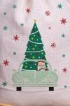 Мешочек большой Дед Мороз за рулём