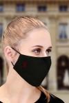 Маска защитная для лица с индивидуальной вышивкой Буква