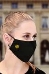 Маска защитная для лица с вышивкой Смайл