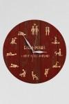 Часы настенные с Вашим именем Камасутра