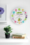 Часы настенные с Вашим текстом Часы для трудоголика