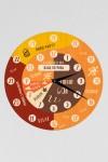 Часы настенные с Вашим именем Распорядок дня