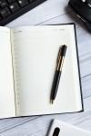 Ежедневник с Вашим текстом Строгий стиль