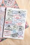 Обложка для паспорта с Вашим именем Штампы