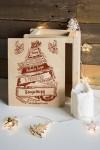 Ящик почтовый новогодний с Вашим именем Рождественская ель