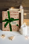 Ящик почтовый новогодний с Вашим именем Самому лучшему