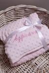 Одеяло с именной вышивкой Имя