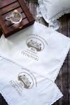 Салфетка с именной вышивкой Chateau