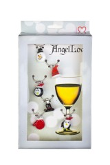 Набор подвесок для бокала Новогоднее настроение