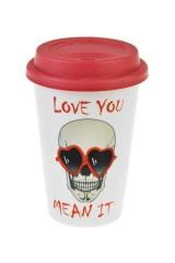 Стакан для чая/кофе Люблю тебя